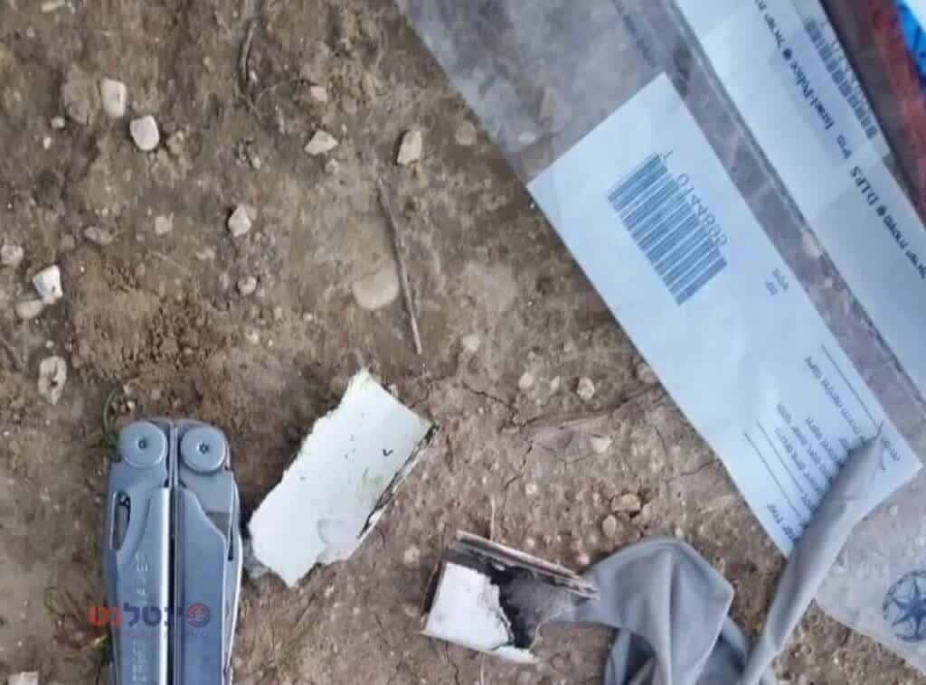 מטען מחובר לבלונים התפוצץ בעוטף עזה