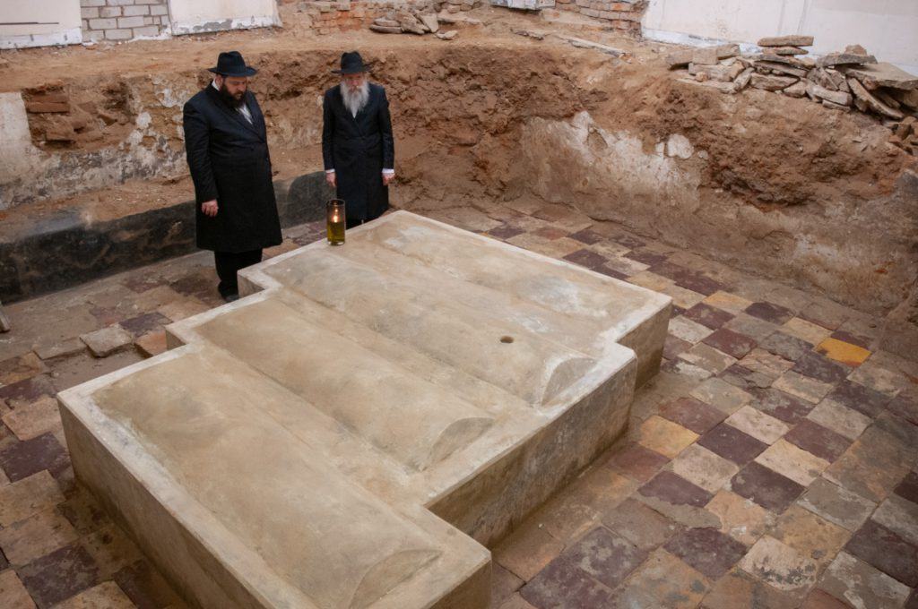 צפו בתיעוד • בחסות הקורונה: ציונו העתיק של רבי לוי יצחק מבארדיטשוב נחשף
