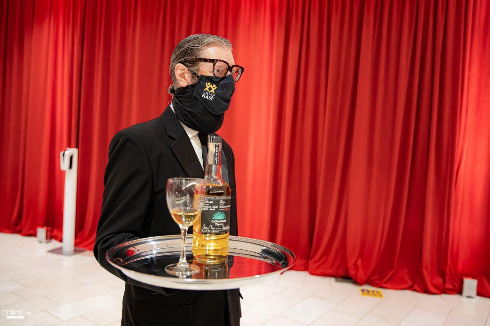 טויטו תיעד: פריד ושוואקי על במת 'האסק' היוקרתי במתכונת קורונה נוצצת - צפו בגלריה