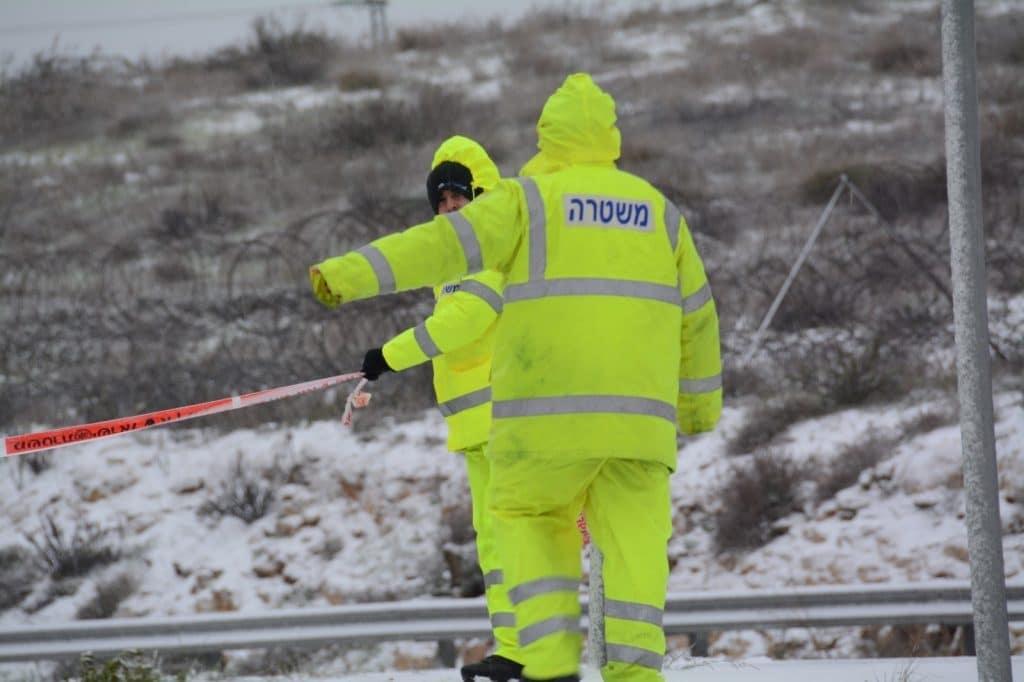 בישראל נערכים לשלג; המשטרה מפרסמת הנחיות לציבור
