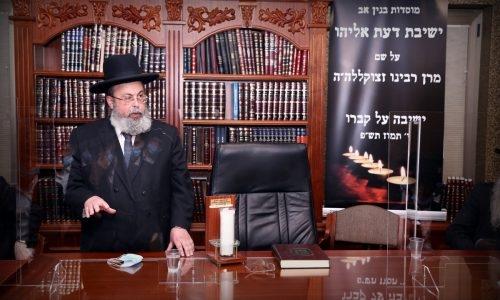 הגר''ד אברהם במשא המרכזי (1)