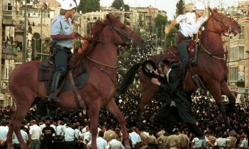 הפגנות בר אילן | צילום: פלאש90 / עיבוד: חן