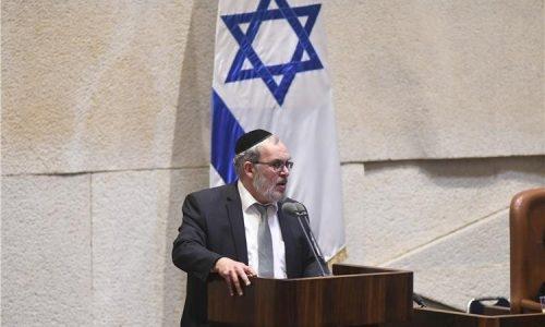 יעקב אשר נואם במליאת הכנסת (אתר הכנסת)
