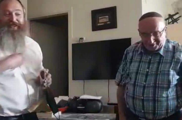 המפגש המרגש עם יעקב השבוע בירושלים / צילום: יד לאחים