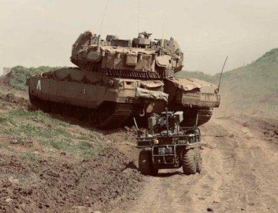 טנק רובוט מלחמה צהל צבא ישראל צילום דובר צהל