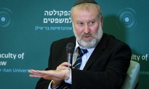 היועץ המשפטי לממשלה אביחי מנדלבליט // צילום: פלאש 90