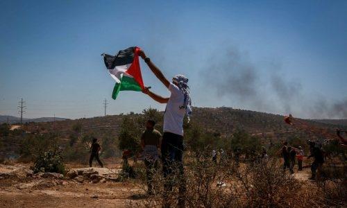 הפגנה אלימה (אילוסטרציה)- צילום: פלאש 90