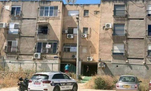 הבניין שפונה הבוקר בטבריה   צילום: דוברות המשטרה