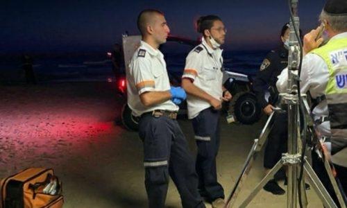 הסריקות בים // צילום: דוברות בטחון עיירית אשדוד