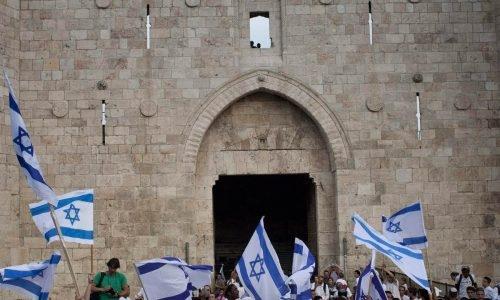 מצעד הדגלים צילום הדס פרוש פלאש 90