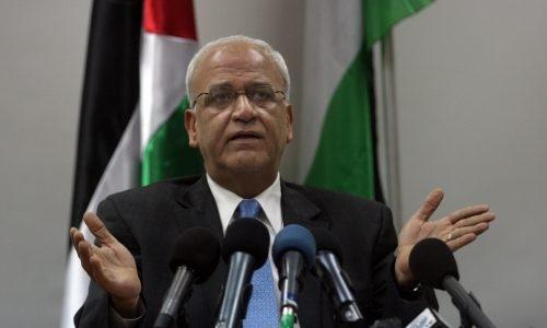 בכיר הרשות הפלסטינית סעיב עריקאת | צילום: Issam Rimawi/ FLASH90