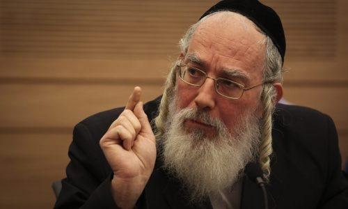 חבר הכנסת ישראל אייכלר | צילום: Hadas Parush/Flash 90