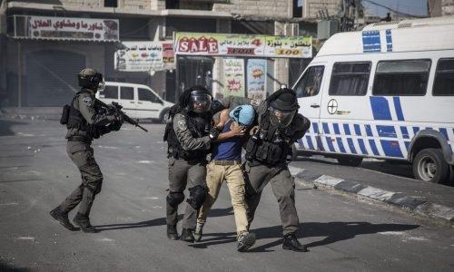 פעילות המשטרה במחנה פליטים שועפט | צילום:  Hadas Parush/Flash90
