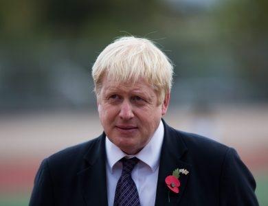 ראש ממשלת בריטניה בוריס ג'ונסון // צילום: יונתן סינדל - פלאש 90