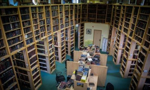 ספרייה תורנית (אילוסטרציה) | צילום: Hadas Parush/Flash90