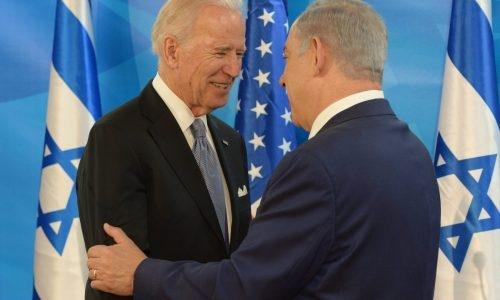 ביידן עם נתניהו צילום פלאש 90