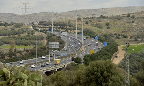 כבישי ישראל   צילום: פלאש90