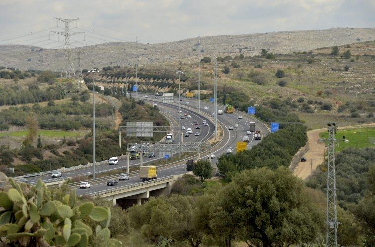 כבישי ישראל | צילום: פלאש90