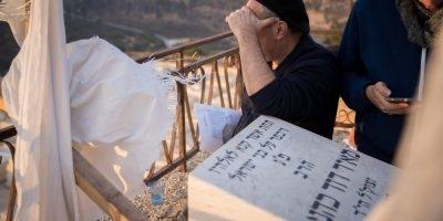קברו של מאיר כהנא בהר המנוחות - צילום יונתן זינדל פלאש 90