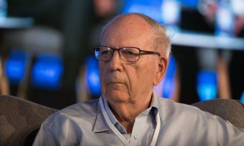 אפרים הלוי, ראש המוסד לשעבר   צילום: Yonatan Sindel/Flash90