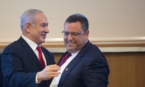 משה ליאון וראש הממשלה נתניהו צילום: אהרון קרון / Flash90