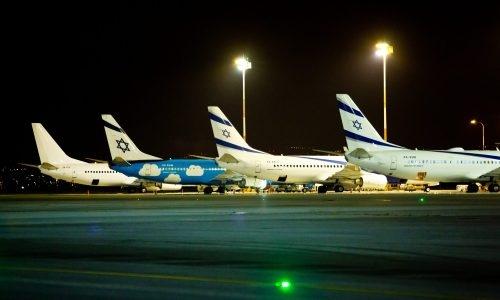 מטוסי אל על | צילום: Moshe Shai/Flash90
