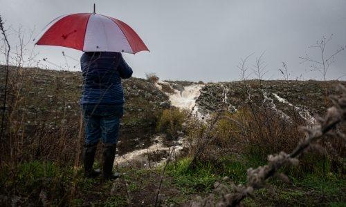 מזג האוויר: גשום // צילום: מאור קינסבורסקי - פלאש 90