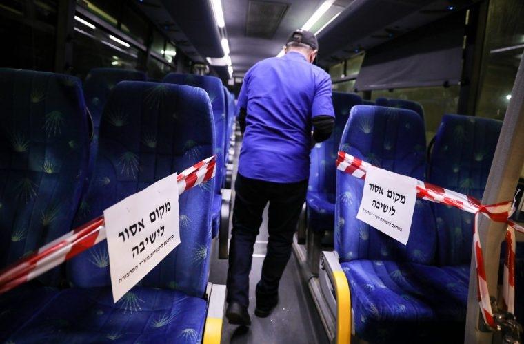 אוטובוס | צילום: אוליבייה פיטוסי / Flash90