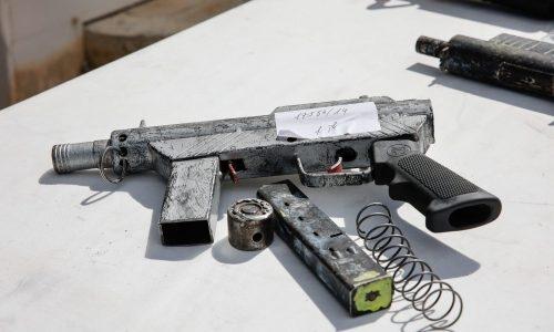 תצוגת נשק  ב -3 במרץ 2021. צילום: Flash90