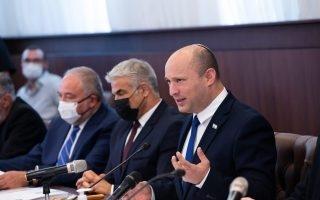 ישיבת הממשלה\ צילום: אלכס קולומויסקי/פלאש 90