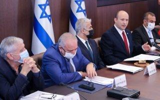ישיבת הקבינט   צילום: MARC ISRAEL SELLEM/POOL