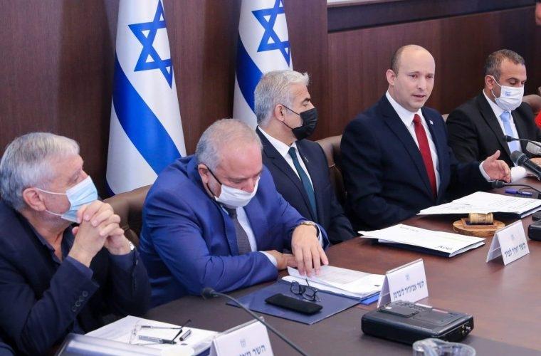ישיבת הקבינט | צילום: MARC ISRAEL SELLEM/POOL