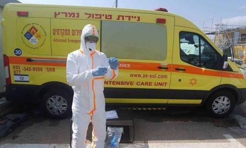 (קרדיט) איחוד האמבולנסים בישראל