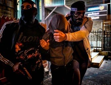 מעצר משטרתי | דוברות המשטרה