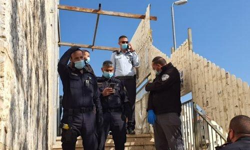 שוטרים   צילום: שמחה כהן