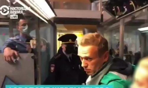 אלכסיי נבלני נעצר עם כניסתו לרוסיה