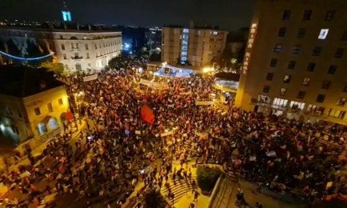בלפור הפגנה הפגנות