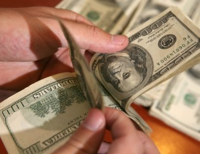 שטרות דולרים // צילום: יוסי זליגר - פלאש 90
