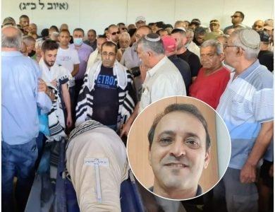 הלווית יגאל יהושע | צילום: כאן חדשות