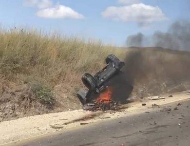 התאונה הקשה | צילום: רשתות חברתיות