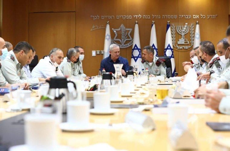 פורום המטה הכללי | צילום: משרד הביטחון