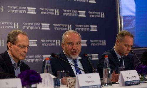שר האוצר אביגדור ליברמן |צילום: המכון הישראלי לדמוקרטיה