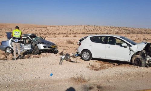 התאונה הקשה   צילום: דוברות זק״א