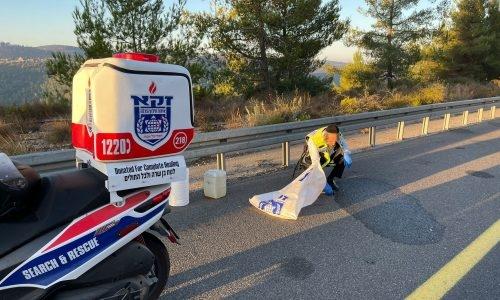 תאונת אופנוע, תאונת דרכים