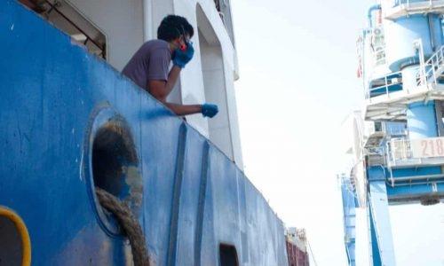 הרציף החדש בנמל אשדוד