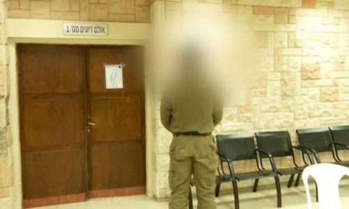 החייל היורה בפתח בית המשפט // צילום: n12